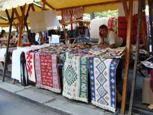 Traditionelemarkt in Cluj-Napoca