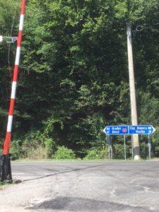 Trein station Valea Draganului